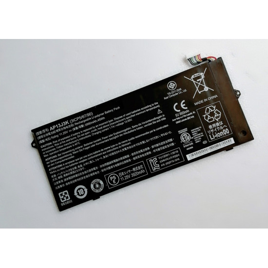 Acer AP13J4K AP13J3K Chromebook C720P 11 C740 Series 3990mAH 45Wh Battery