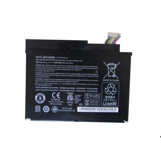 Acer Iconia w3-810 AP13G3N 1ICP5/67/90-2 25Wh Battery