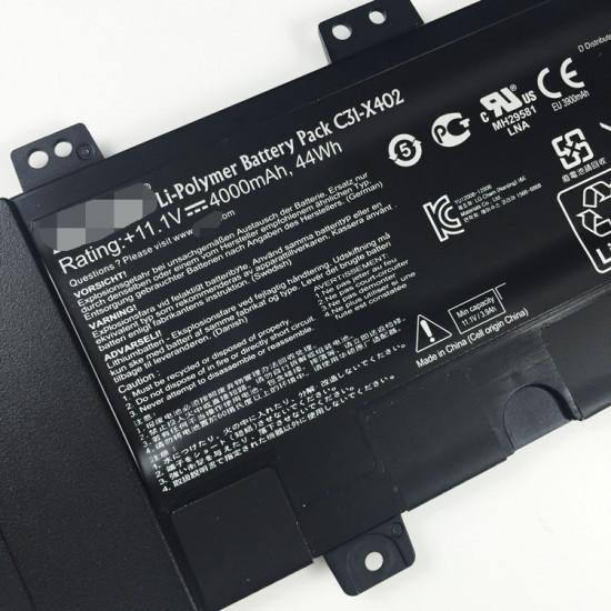 C31-X402 44Wh Battery For Asus VivoBook S300C S300CA S400CA  S400E
