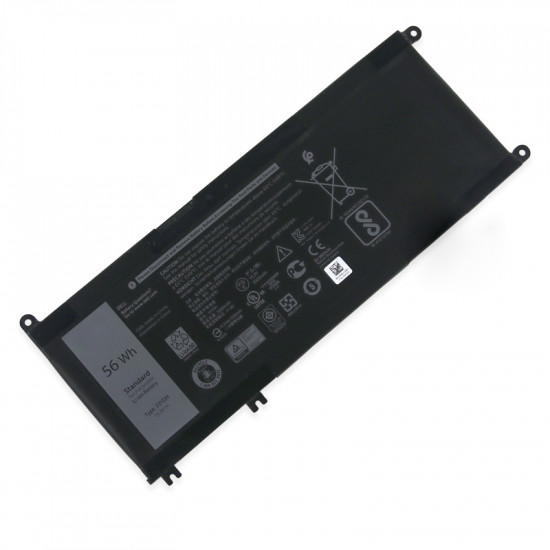DELL 33YDH P30E PVHT1 3500mAh 56Wh inspiron 17 100% New Battery