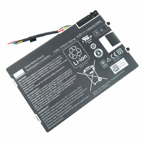 Dell PT6V8 T7YJR 63Wh Alienware M11x R2 series 100% New Battery