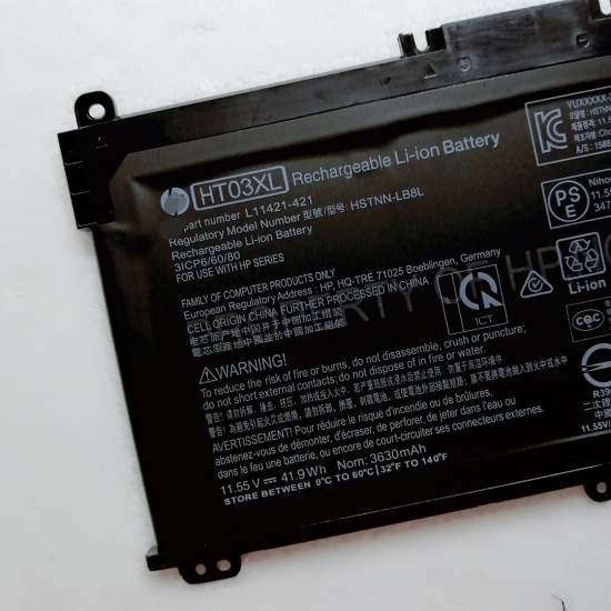 Hp Pavilion 14-ce0000 ce0001ng HT03XL HSTNN-LB8L laptop battery