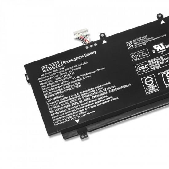 Hp SH03XL HSTNN-LB7L Spectre x360 13 Convertible PC Battery
