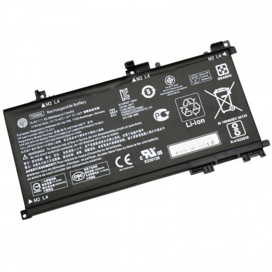 Hp OMEN 15-AX214TX HSTNN-DB7T TE04XL 63.3WH 100% New Battery