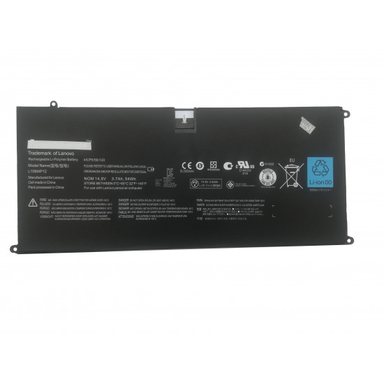 Lenovo IdeaPad U300  Yoga 13 Series L10M4P12 14.8V 54Wh Battery