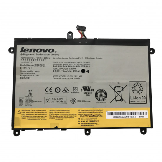 Lenovo L13M4P21 L13L4P21 34Wh Ideapad Yoga 2 11 100% New Battery