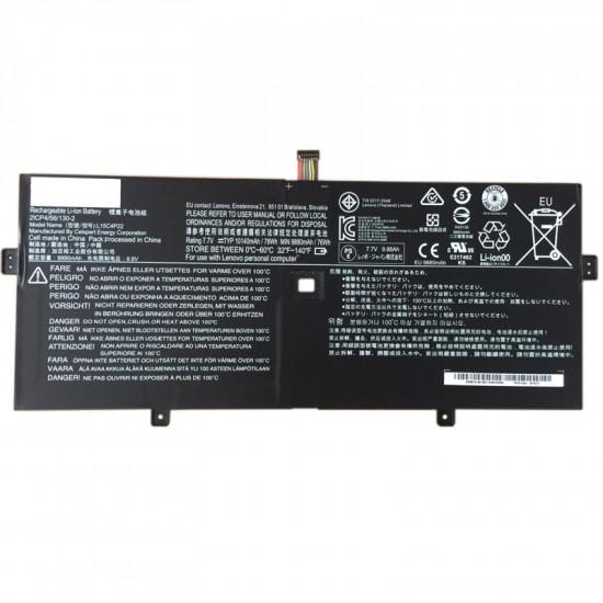 Lenovo L15C4P22 L15M4P23 78Wh YOGA 910-13IKB 100% New Battery