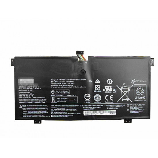 Lenovo L15L4PC1 L15M4PC1 5264mAh Yoga 710 Series 100% New Battery