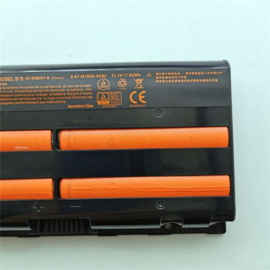 Clevo N150BAT-6 N150RD N150RF N150SD N170RF1 11.1V 62Wh Battery