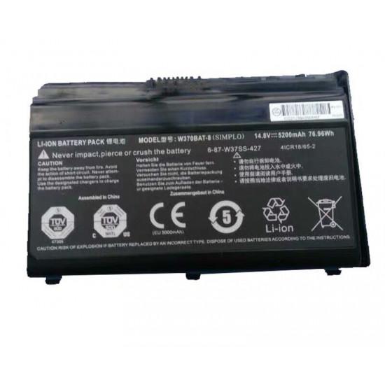 Clevo W370BAT-8  W350ST W355ST W370ST W370SS SAGER Sager 7358 Battery