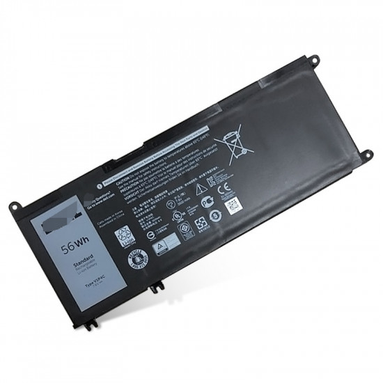 Dell Chromebook 13 3380 V1P4C 7.6V 56Wh laptop battery