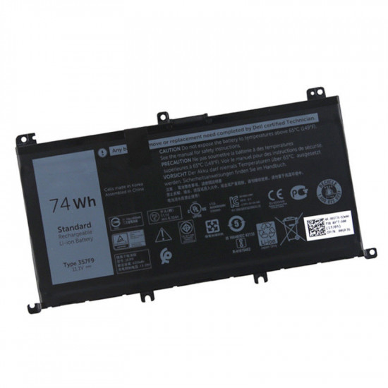 357F9 74Wh Battery for Dell Inspiron 15 5576 5577 7000 laptop