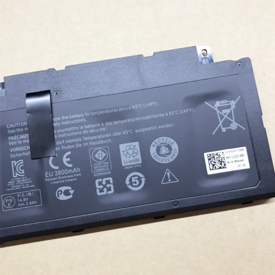 Dell F7HVR G4YJM T2T3 Inspiron 15 7537 Insprion 17 7737 laptop battery