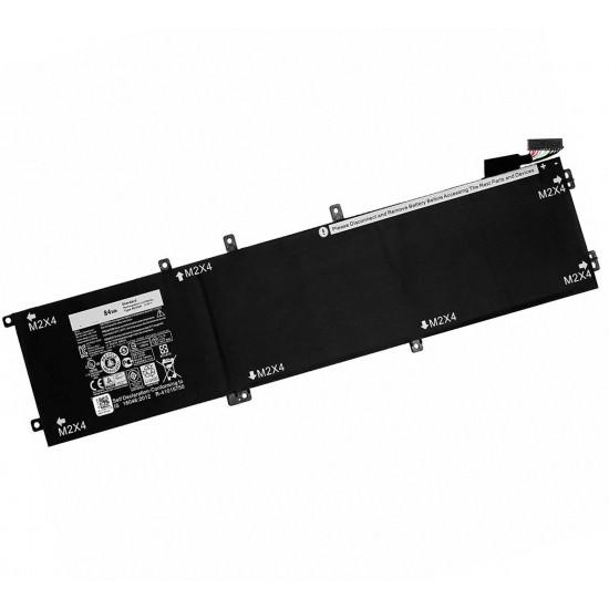 Dell 4GVGH XPS 15 9550 Precision 15 5510 1P6KD 01P6KD 84Wh Battery