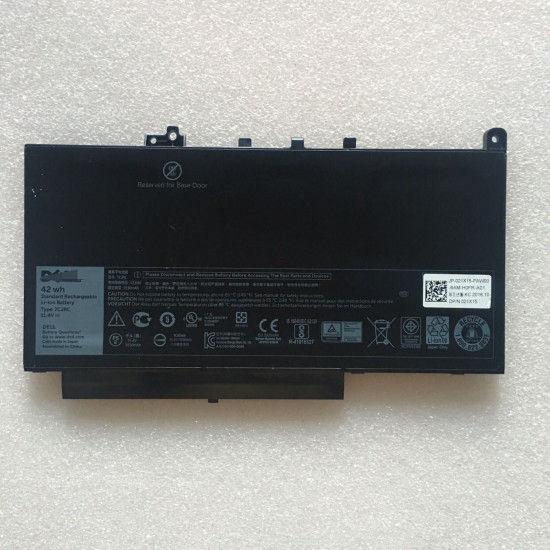 Replacement Dell 7CJRC Latitude 12 E7270 E7470 42Wh Battery